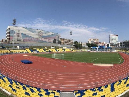 """На реконструированном ульяновском стадионе """"Труд"""" надо менять газон"""