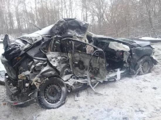 Два человека погибли в ДТП в Лысковском районе