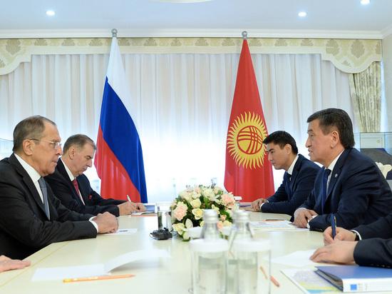 Большой визит: итоги поездки главы МИД РФ Сергея Лаврова в Кыргызстан