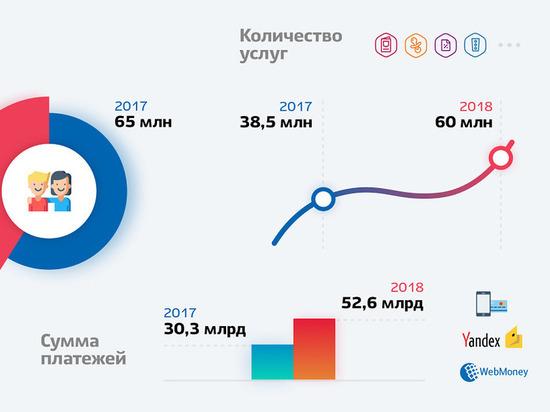 За 2018 год число пользователей портала Госуслуг возросло на 30%