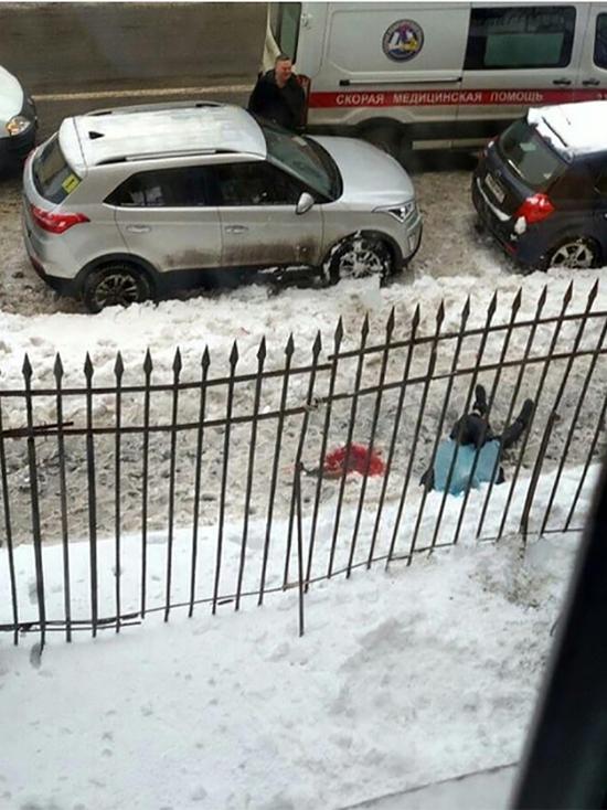 В Петербурге студента убило наледью около университета