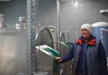 Завезенные из Дании коровы выдают по 24 литра молока в сутки