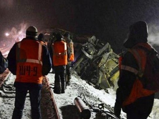 Более 20 вагонов с углем сошли с пути в Хабаровском крае