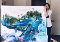 «Ты потеряла глазик и твое уродство отразится на нашей семье»: в сети затравили алтайскую художницу