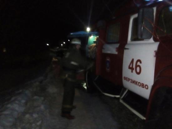 Бабушка 86 лет пострадала при пожаре под Калугой