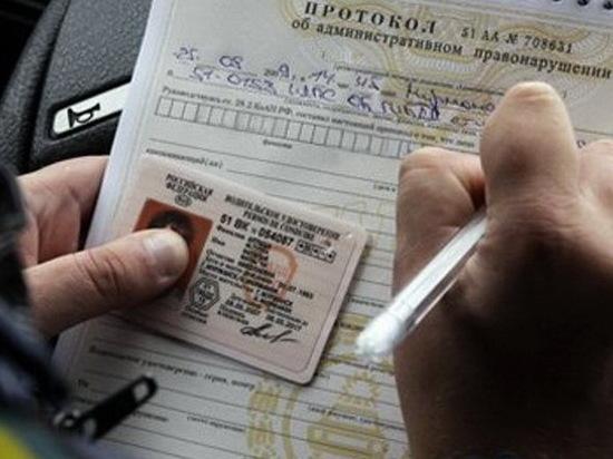 Сотни жителей Воронежской области лишились водительских прав в ушедшем году