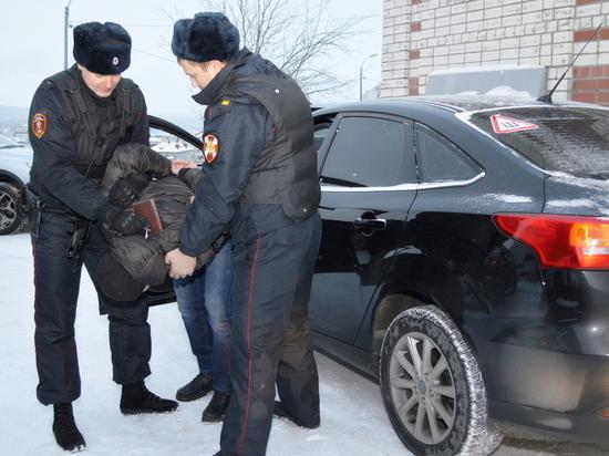 В Мурманске была погоня за пьяным водителем без прав