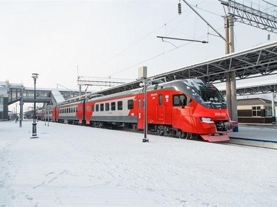 В Красноярске запустили электрички нового поколения