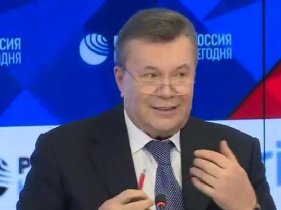Янукович заявил о возможности покушения на него