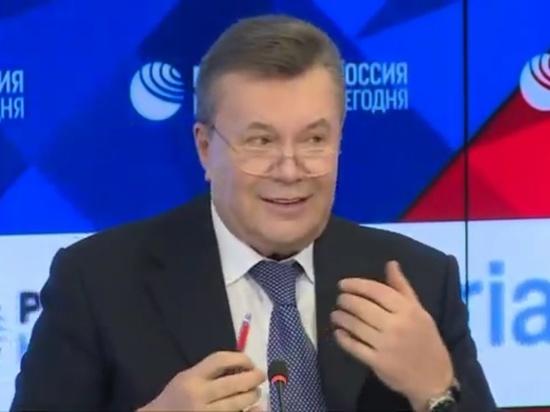 Янукович заявил о попытке Порошенко выиграть выборы фальсификациями