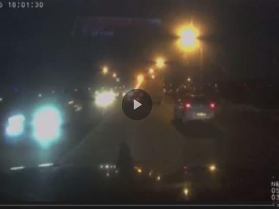 Смертельный наезд на пешеходов в Обнинске попал на видео