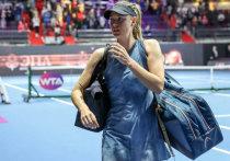 Звезда St. Petersburg Ladies Trophy Мария Шарапова сыграла всего один матч