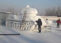 Гигантский танк построили заключенные новокузнецкой колонии