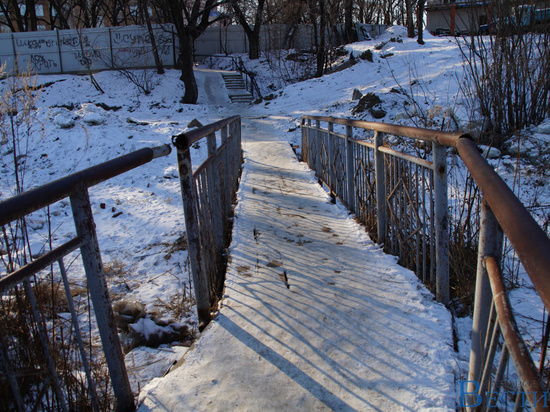 Аварийный мост угрожает жителям Хабаровска