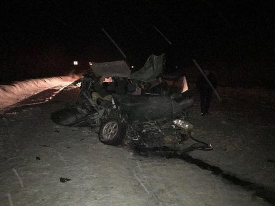 Жертвой страшной аварии в Башкирии стал 19-летний юноша