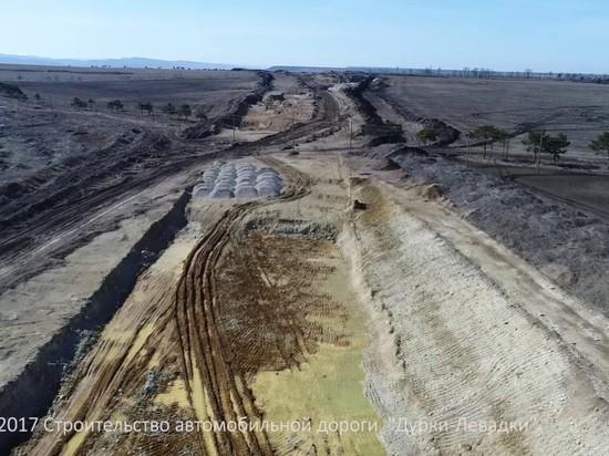 Движение по дороге Дубки-Левадки открыли после строительства