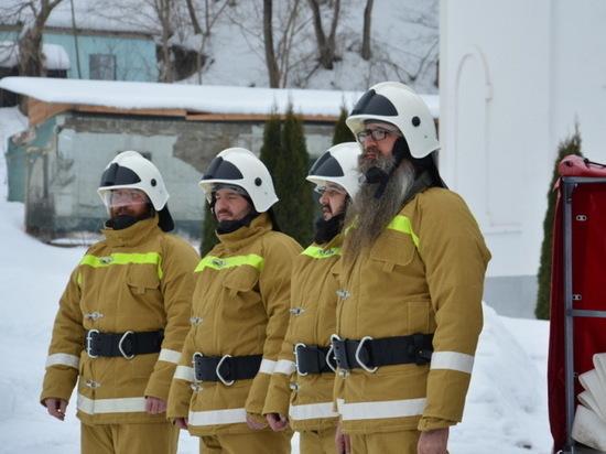 В Воронежской области создан отряд «батюшек»-пожарных