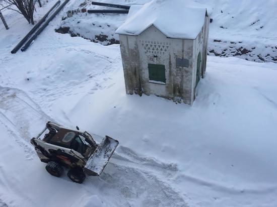 Возле Анастасиевской часовни в Пскове возобновились строительные работы