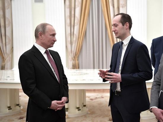 Воронежский предприниматель встретился с Владимиром Путиным