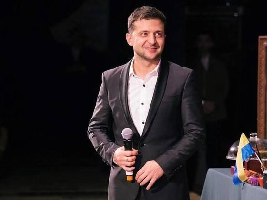 Лидер предвыборной гонки на Украине Зеленский назвал себя клоуном