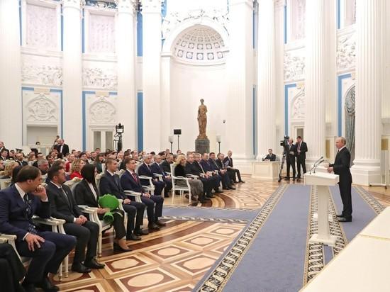 Путин вручил ученым премию за чуящий взрывчатку «нос»