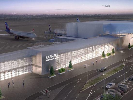 Минтранс Алтайского края показал варианты архитектурных решений международного аэропорта Барнаул