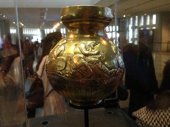 В Крыму на выставке в Бахчисарае показали коллекцию золота скифов