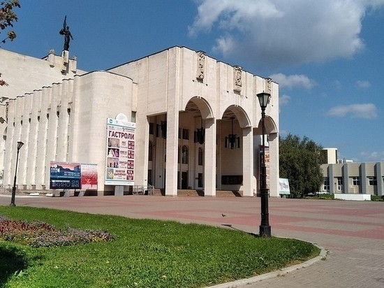 В Курске приведут в порядок фасад драмтеатра