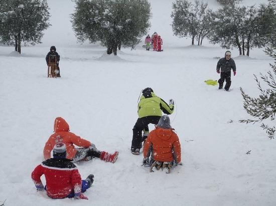 Тюменцев приглашают поучаствовать в зимних забавах