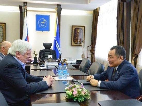 Глава Тувы обсудил с зампрокурора России строительство нового здания для прокуратуры