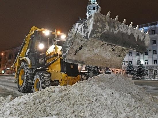 За сезон из Перми вывезено 475 тысяч кубометров снега