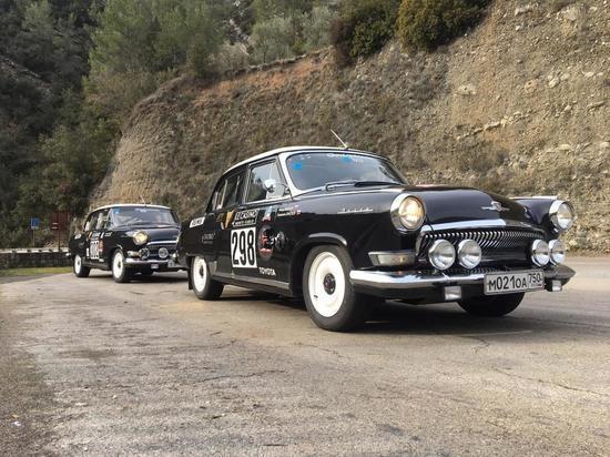 Ретро-автомобили «Волга 21» финишировали на ралли в Монте-Карло