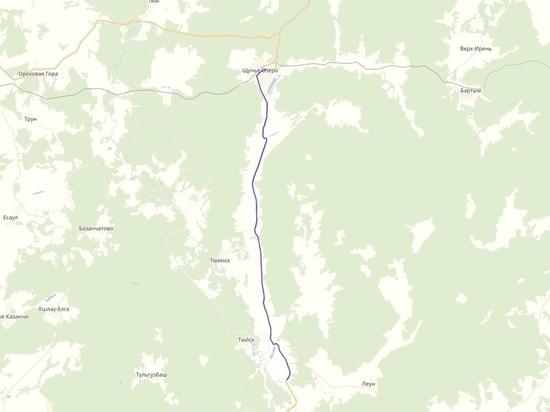 Дорогу, связывающую Прикамье с Башкирией, отремонтируют в этом году