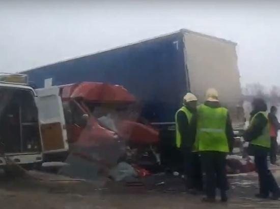 Водитель «Fiat Ducato» погиб на трассе М-7 в Кстовском районе