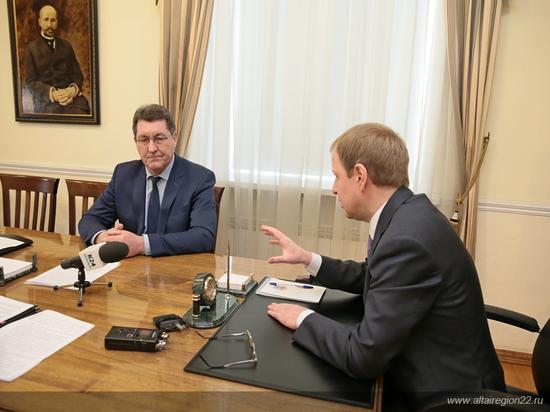 Томенко указал Дугину на ошибки: такой ситуации с коммунальными авариями в Барнауле мы должны избежать