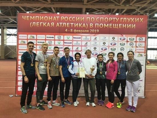 Ульяновские легкоатлеты установили рекорд России
