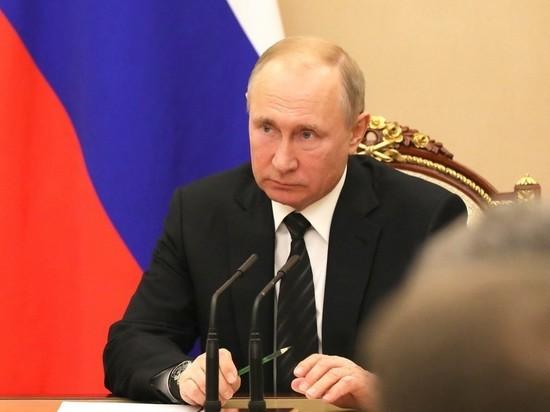 Путин снял с должностей девять генералов-силовиков