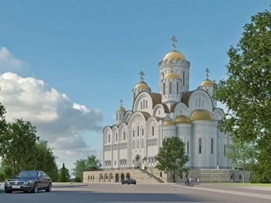 В Екатеринбурге экстренно согласовывают строительство Собора святой Екатерины