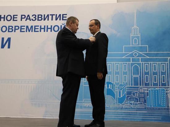 Спикер ЗСК Юрия Бурлачко получил орден «За заслуги перед Отечеством»