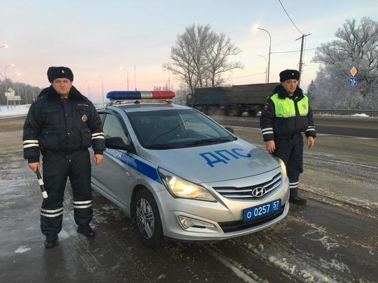 Орловские инспекторы ГИБДД помогли найти украденные рельсы