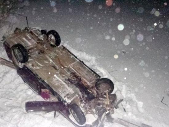 В Тайшетском районе автомобиль «Жигули» пробил мост и рухнул на лед