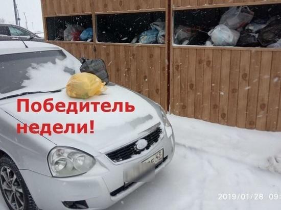Парковочные наглецы Кирова будут награждаться сушеной крапивой