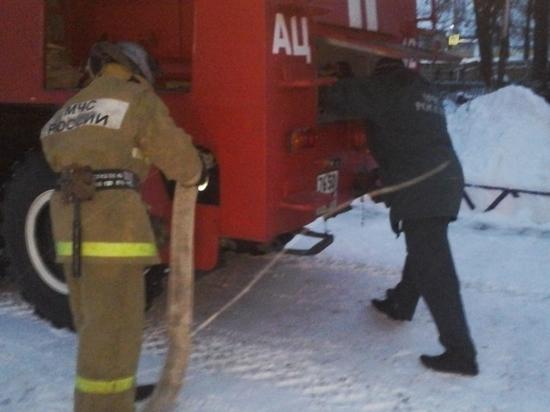 Человек пострадал при пожаре на Байконуре
