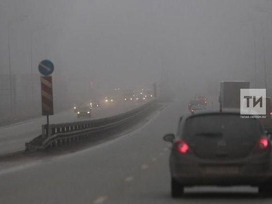 В Татарстане ожидается туман и гололед