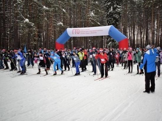 Более двух тысяч участников прошли «Лыжню России» в Иваново (ФОТО)