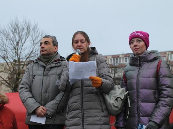 Выступление Светланы Прокопьевой на митинге в защиту свободы слова
