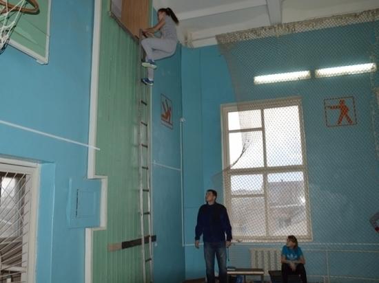 Калмыцкие школьники увлеклись пожарно-прикладным спортом