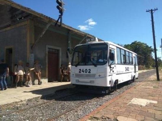 Рельсовый автобус калужского производства испытывают на Кубе