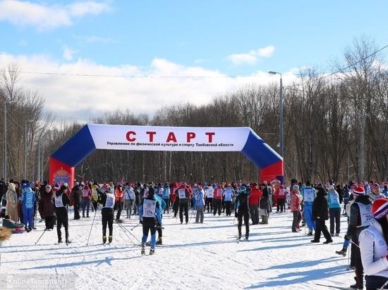 В Тамбове на лыжи стало более 6 тысяч человек