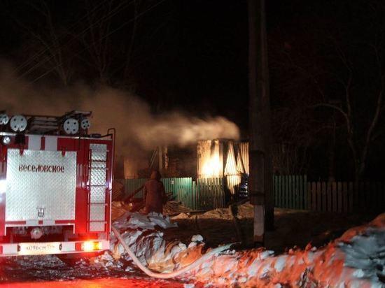 Семь человек, включая детей, погибли в пожарах Новосибирской области